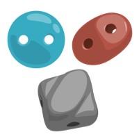 Perlice sa dve rupe