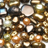 MIX Pearl Dark Topaz