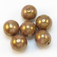 Okrugle staklene perle 8mm