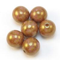 Okrugla staklena perla 8mm