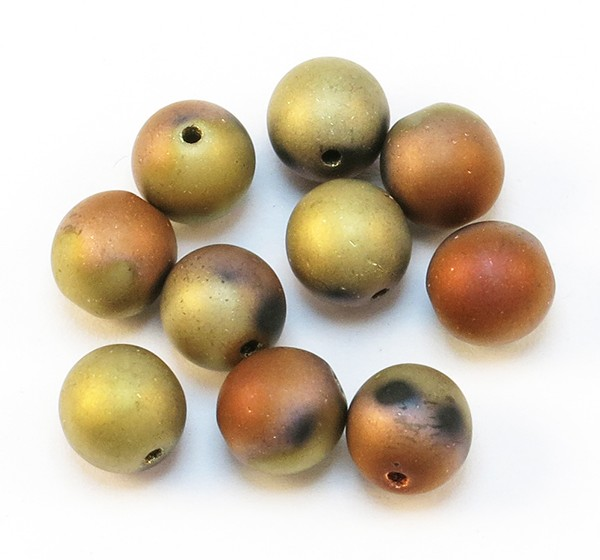 Okrugle staklene perle 6mm