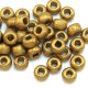 Czech Round 6/0 Etched Seed Beads
