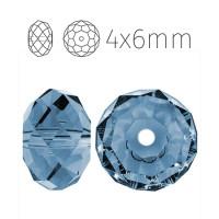 Rondelle 4x6mm