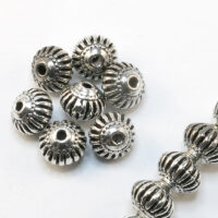 Metalne perle - Tibetansko srebro