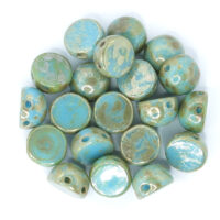 2-hole Cabochon 6mm