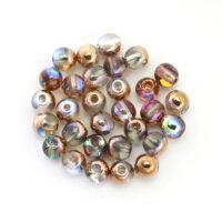 Okrugle staklene perlice