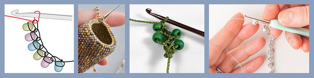 Tehnika pletenja - Heklanje sa perlama - eng. Bead Crochet
