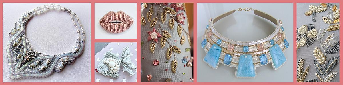 4. Vez perlama - eng. Bead Embroidery