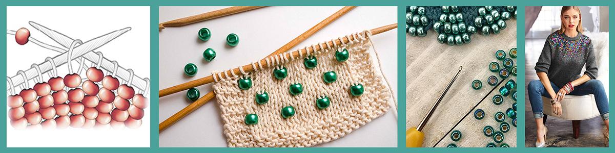 Tehnika uplitanja - Bead Knitting -  štrikanje sa perlama