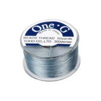 One-G Beading Thread Gray