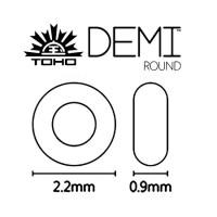Round 2,2 mm DEMI™ - 11/0 DEMI™