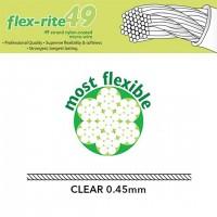 Sajla čelična Flex-rite® 49 struna