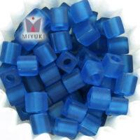 Matted Transparent Capri Blue