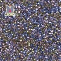 Lined: Purple-Bronze Mix