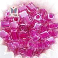 Fuchsia Lined Crystal